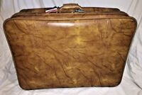 """American Tourister Brown Luggage Soft Leather 28 1/4"""" X 20"""""""