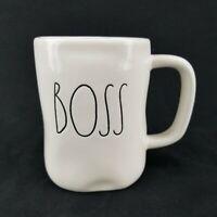 Rae Dunn BOSS Coffee Mug Cup by Magenta Artisan Collection