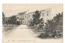 TUNISIE , TUNIS , ECOLE D AGRICULTURE COLONIALE