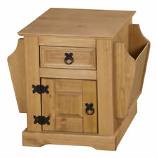 Solid Wood Country Side & End Tables with Drawers