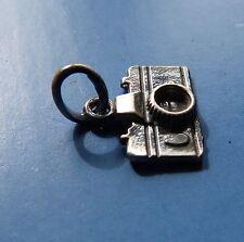 Fotocamera-Macchina Fotografica  Ciondolo in Argento Brunito 925 Sterling silver