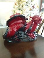Royal Doulton - Large Flambe Veined Dragon - 2085 - Made in England