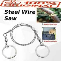 Multifunctional Portable Life Chain Saw Blade Stainless Steel Wire Saw Cutter