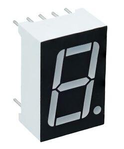 10 X Bleu 1.4cm 1 Chiffres Sept 7 Segment Écran D'Affichage Anode Commune LED