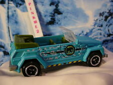 2016 JUNGLE CREW Exclusvie '74 VOLKSWAGEN TYPE 181☆Blue/Green VW☆LOOSE☆Matchbox