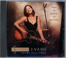 Sara Evans - Shame about that (Remix) - US 3-trk promo CD (1997)!