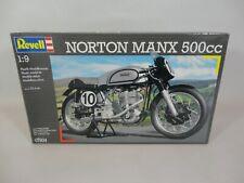 Revell 1:9 Norton Manx 500cc Motorcycle Model Kit Motorbike 07934 Plastic 1/9
