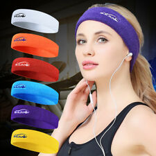 Fashion Sport Hair Band Sweatband Fitness Yoga Basketball Run Headband Kerchief