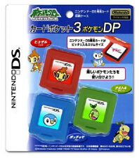 Brand New Pokemon Nintendo DS Game Case Set of 3 Turtwig, Chimchar, Piplup