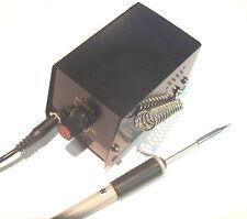 Lötstation mit Micro-Lötkolben + Ersatzspitze auch für Löten an SMD Bauteilen