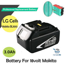 BL1830 18V Rechargeable Lithium Ion 3.0Ah Battery Replacement Tool  For Makita A
