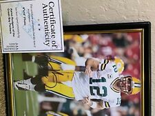 NFL Green Bay Packers Aaron Rodgers Autographed Photo w COA