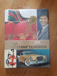2008 Commemorative Stamp Yearbook - Briefmarkenjahrbuch USA 2008
