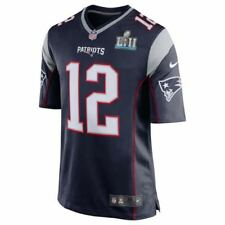 DS Nike New England Patriots Tom Brady Super Bowl LII 52 Jersey On Field Apparel