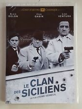 DVD LE CLAN DES SICILIENS - Jean GABIN / Alain DELON / Lino VENTURA - NEUF