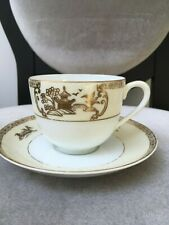 Japanese Vintage Noritake Fine bone China cup and saucer, extremely see through