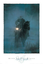 David Stoecklein Hero of the Storm Quality Western Cowboys Print Poster