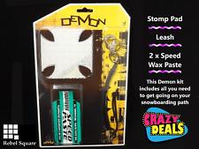 Demon Snowboard Stomp Pad Kit - A great birthday or Christmas gift.