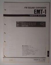 Original Yamaha EMT-1 FM Sound Expander SERVICE Manual
