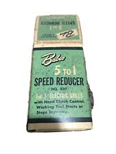 Babco 5 To 1 Speed Reducer #820