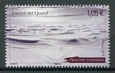 French Andorra 2019 MNH Estanyo del Querol Lake 1v Set Lakes Tourism Stamps