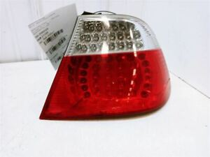 04-06 BMW E46 325CI PASSENGER RIGHT COUPE TAIL LIGHT ASSEMBLY LED OEM USED