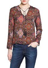 Woman tassel baroque  shirt,blouse  size XS UK 6 ,mango .,