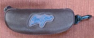 Maui Jim Hard Brown Sunglasses Glasses Zippered Sport Clip CASE ONLY New