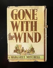 1937 GONE WITH THE WIND by Margaret Mitchell 1st Edition Original Dust Jacket VG