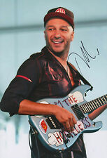 "Tom Morello ""Rage against the machine"" autographe signed 20x30 cm image"