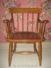 Heywood Wakefield Arm Chair Publick House Collection Cinnamon Solid Maple
