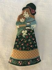 "Victorian Courtship Doll - 1 - Iron-On Fabric Appliques.. 6 1/2"" Tall.  (I)"