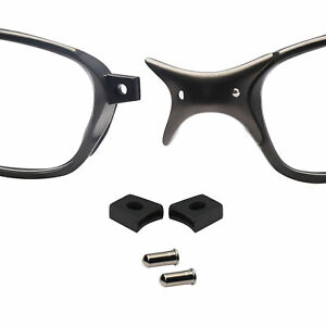 Nose Bridge Flex Coupler and Pins for-Oakley Juliet X-Metal Penny X-Squared