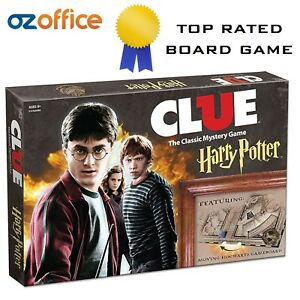 BRAND NEW - Clue : Harry Potter - Cluedo : Harry Potter Classic Mystery Game