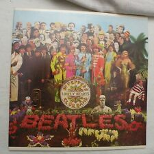 LP, The Beatles, Sgt. Peppers Lonely.., 1980s Black Rainbow Label Reissue, NM