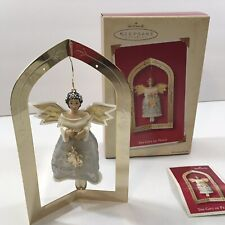 Hallmark Keepsake Ornament The Gift Of Peace Angel with Decorative Stand