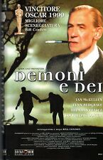 Demoni e Dei (1983) VHS Lucky Red   (Oscar) Bill Condon ,  Ian McKellen  UNICA