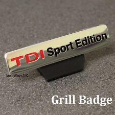 Nueva parrilla insignia emblema TDI SPORT EDITION logo decal sticker frente VW Audi Seat