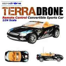 TerraDRONE Remote Control Convertable Sports Car 1/18 Scale