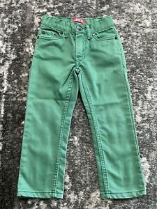 Youth 3T 511 Green Levi Skinny Jeans