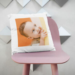 PERSONALISED LUXURY CUSHION COVER GIFT FOR ANY OCCASSION, Any Photo TEXT OR LOGO