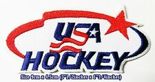 USA. American Hockey Sport Embroidery Patches logo iron,sewing on clothes