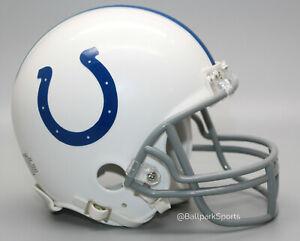 Indianapolis Colts - Riddell VSR4 Mini Helmet (NEW 2020 Design) New in Box