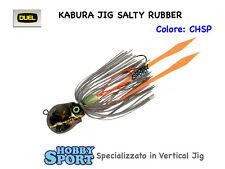 KABURA DUEL SALTY RUBBER 30 GR VERTICAL JIG col CHSP