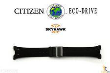 Citizen Eco-Drive JR3155-03E Skyhawk 25mm Black Rubber Watch Band S030480