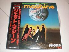 Finger 5 LP Jet Machine JAPAN WITH OBI