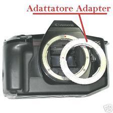Adattatore Adapter ottiche PENTAX  K a corpo Canon EOS