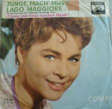 "7"" 1959 RARE ! CONNY FROBOESS : Junge Mach Musik / VG"