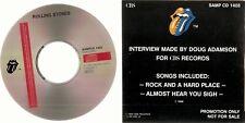 "ROLLING STONES ""Interview 1990"" Cardsleeve Promo CD RAR"
