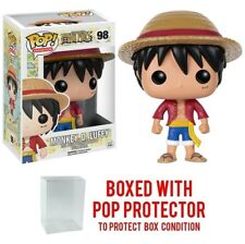 Funko POP Anime: One Piece - Luffy 98 Vinyl Figures w/Protector Case